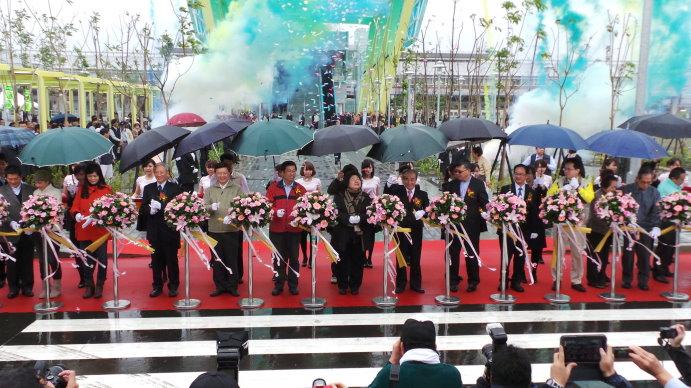 12月23日南岡山捷運通車
