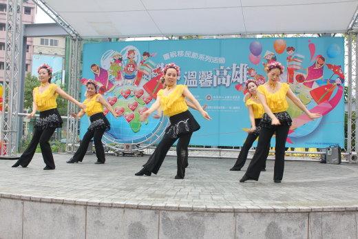 岡山社大參與移民節慶祝活動