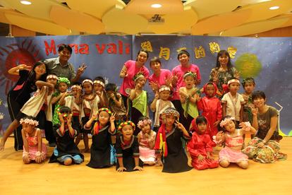 幼稚園與月亮約定故事公演